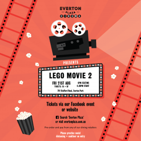 EP Outdoor Cinema: Lego Movie 2 Featured Image