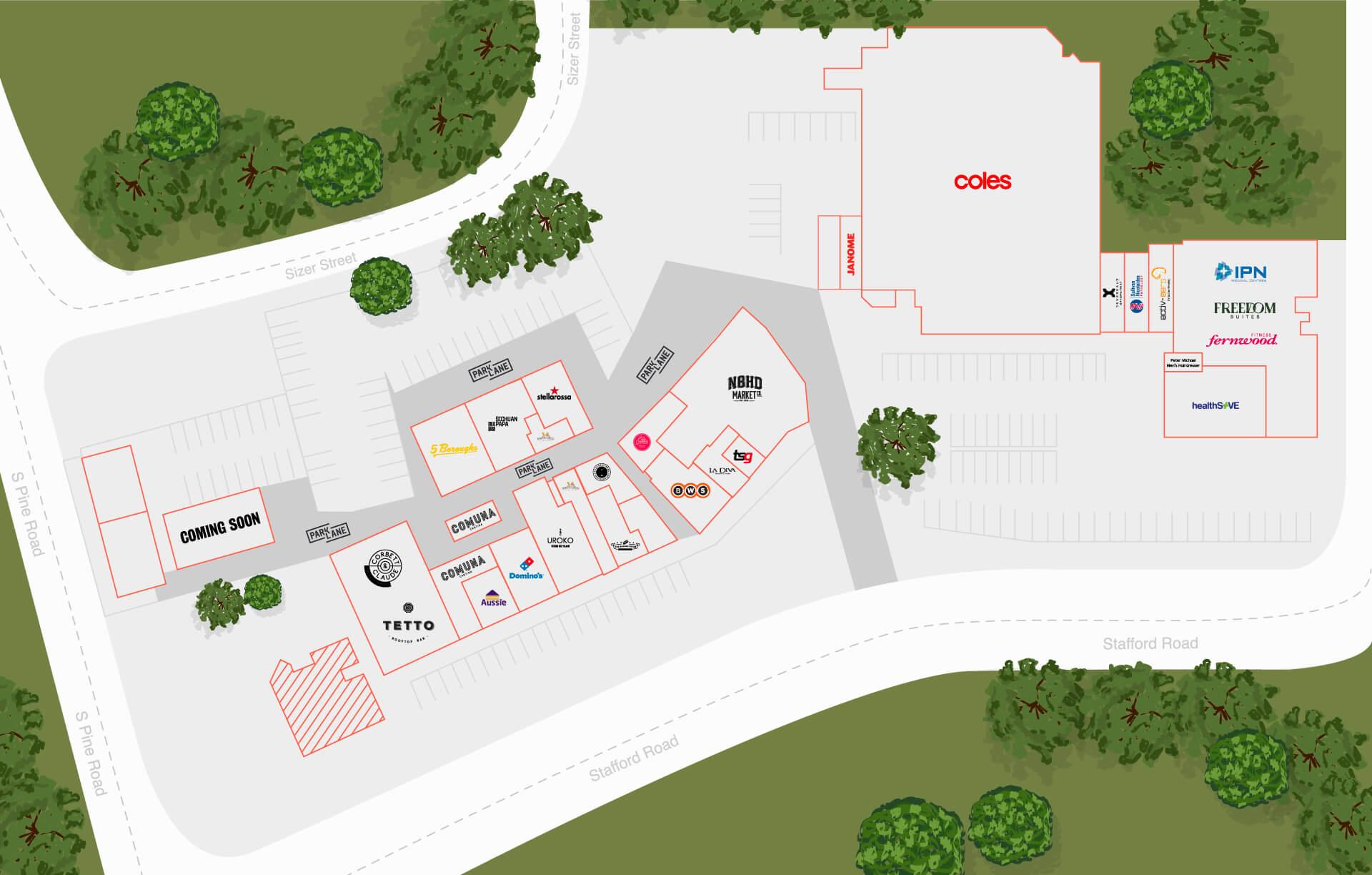 Everton Plaza Map